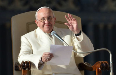 L'udienza di Papa Francesco del 9 settembre
