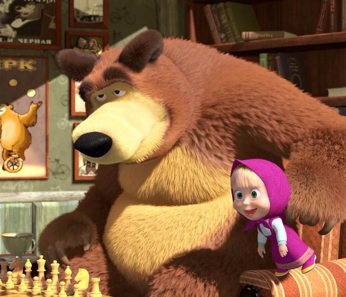 Cartoni animati la storia di masha ed orso romanews